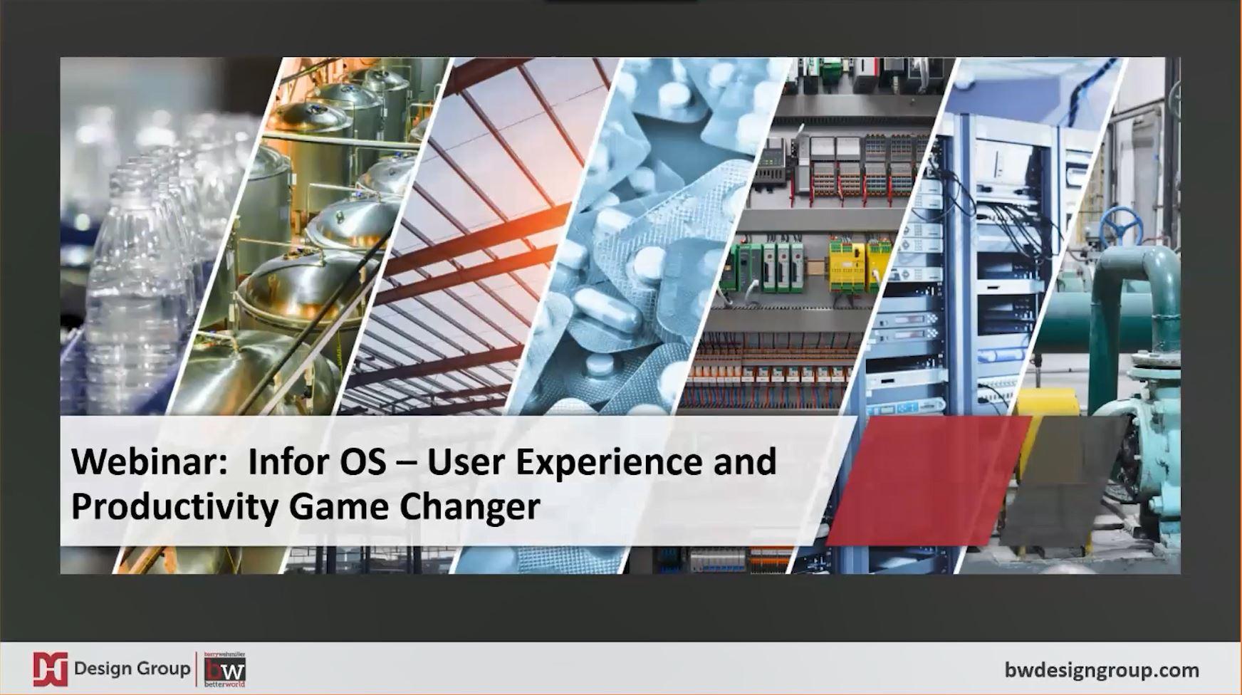 Infor OS - User Experience Webinar