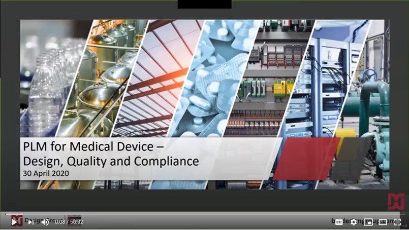 PLM for Medical Device - Webinar