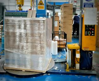 Palletizer and Stretchwrapper Safety Guarding