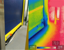 Perform a thermal image scan of your facility to find and eliminate leaks