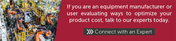 To optimize your product cost, talk to our experts