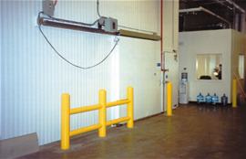 Use Night Doors in cold storage rooms that see heavy daytime traffic